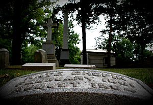 Kate Chopin - Kate Chopin's grave in Calvary Cemetery, St. Louis, Missouri