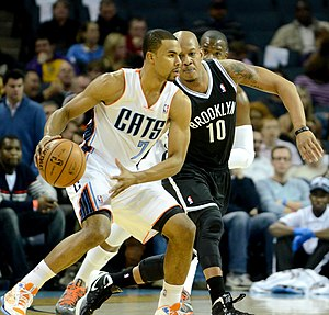 Ramon Sessions - Sessions with the Bobcats in March 2013, being defended by Keith Bogans.
