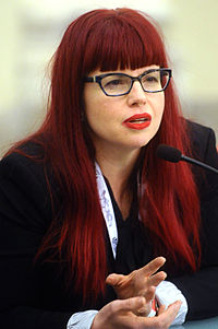 Kelly Sue DeConnick - Lucca Comics and Games 2015.JPG