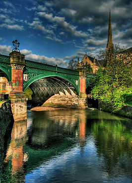 Kelvinbridge in Glasgow