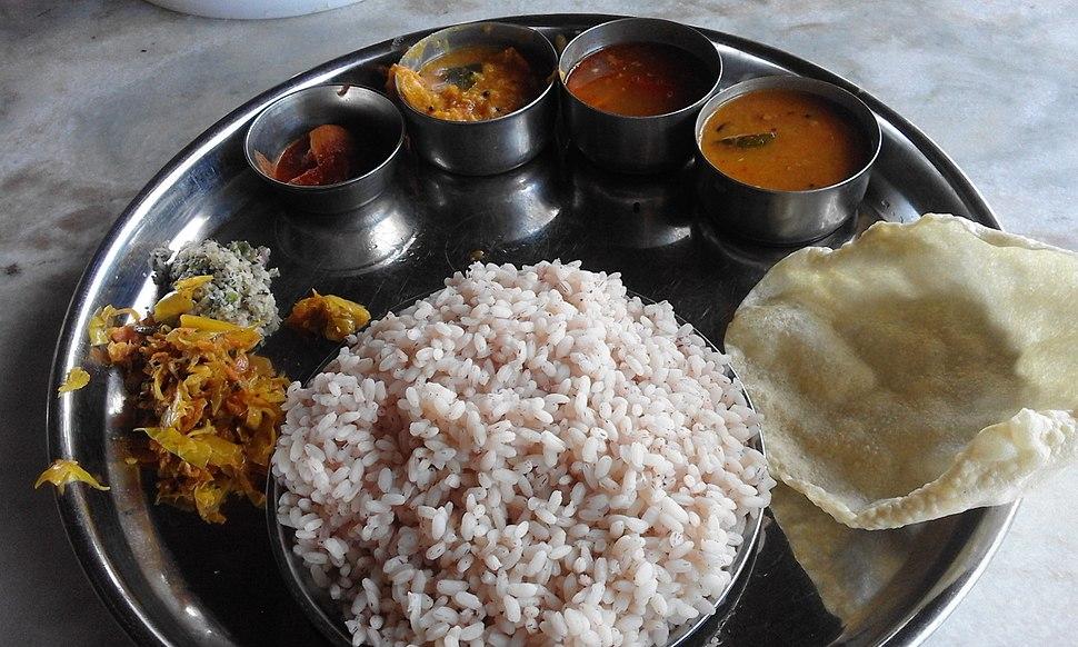 Kerala Style Lunch at Gundlupet