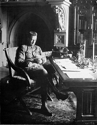 Alexander Kerensky - Kerensky in office