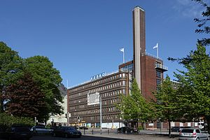 Kesko - Kesko headquarters in Katajanokka, Helsinki, Finland
