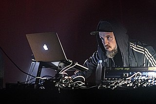 Kevin Martin (British musician) English dubstep musician