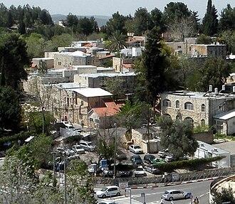 Deir Yassin - Image: Kfar Shaul cropped(1)