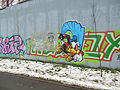 Khimki graffiti duck.JPG
