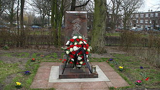 Khojaly Massacre - Khojaly Massacre Memorial in The Hague, Netherlands.