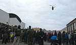Killer Troop interacts with Polish citizens during static display 150327-A-IK997-015.jpg