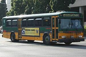 King County Metro fleet - Image: King County Metro Transit Gillig PHANTOM 3436