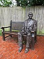 Kipling statue, Burwash 1.jpg