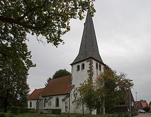 Elbe, Lower Saxony - Church in Gustedt