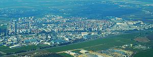 Kiryat Malakhi - Image: Kiryat Malakhi Aerial View