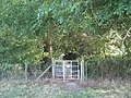 Kissing Gate near Young's Plantation - geograph.org.uk - 1457819.jpg