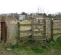 Kissing gate on path - geograph.org.uk - 1203373.jpg