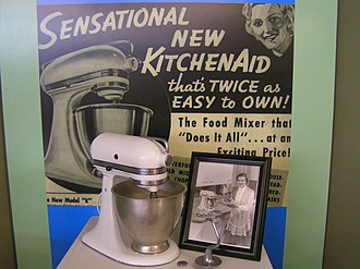 "KitchenAid - Model ""K"", which introduced the trademarked KitchenAid silhouette"