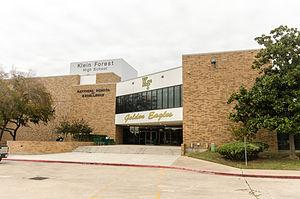 Klein Independent School District - Image: Klein ISD Klein Forest High School