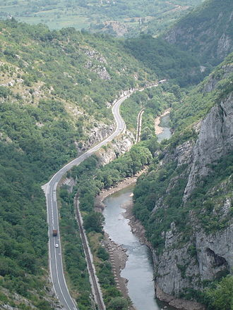 Nišava - The Sićevo gorge, eastern Serbia