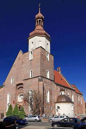 Żory - Saints Philip and Jacob parish church