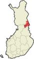 Koillismaan seutukunta Suomen maakuntakartalla.png