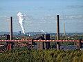 Kokerei Zollverein - mit Löschfahne der Kokerei Prosper.jpg