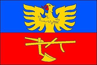 Komorní Lhotka - Image: Komorní Lhotka vlajka