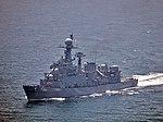 Korean frigate Busan (FF-959) in May 2014.JPG