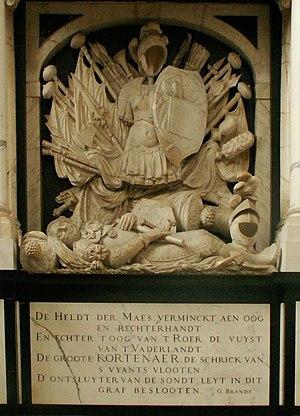 Egbert Bartholomeusz Kortenaer - Kortenaer's grave memorial