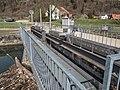 Kraftwerk Obermatt Stauwehr-Steg über den Birskanal, Zwingen BL 20190406-jag9889.jpg