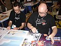Krahulik Holkins, Comicon 2006.jpg