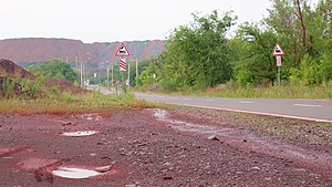 Kryvyi rih roads and signs