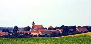 Krzelków - Krzelków skyline.