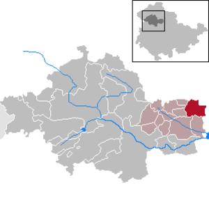 Kutzleben - Image: Kutzleben in UH