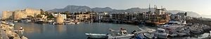 Kyrenia Harbour Panorama, North Cyprus