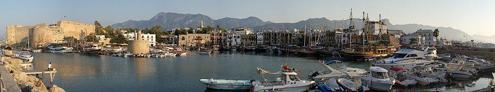 Kyrenia Harbour Panorama, North Cyprus