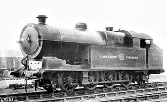 L&YR Class 32 - Image: L&YR class 32, 1505