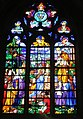 L'Épine (Marne), basilica Notre-Dame, stained glass window, Mary in the temple.jpg