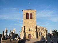 L'église Saint-Martin de Miribel dans l'Ain.JPG