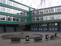 More modern school in Germany