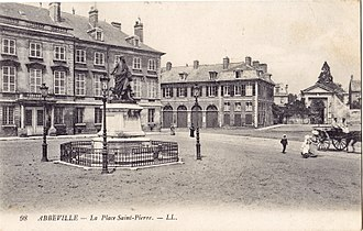 Abbeville - The Place Saint-Pierre, before 1914
