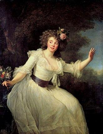 Louise-Rosalie Lefebvre - Portrait of Madame Dugazon