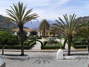 La Uvita - Central square of La Uvita