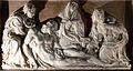 La Voulte-sur-Rhône - Entombment of Christ bas-relief.JPG