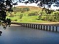 Ladybower Reservoir - Derwent Aqueduct - geograph.org.uk - 1526503.jpg