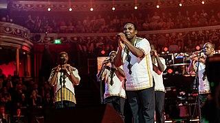 Ladysmith Black Mambazo South African male a capella ensemble