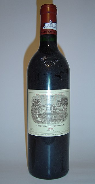 Bordeaux Wine Official Classification of 1855 - Château Lafite-Rothschild