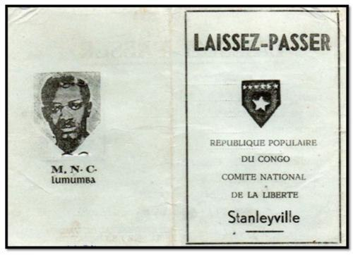 Laissez-Passer of the People's Republic of the Congo-Stanleyville