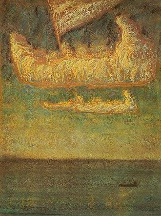 Mikalojus Konstantinas Čiurlionis - Image: Laivas.Debesys