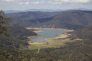 Lake Eildon National Park - Lake Eildon, the central feature of the national park