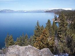 Lago tahoe wikipedia for Cabina nel noleggio lago tahoe