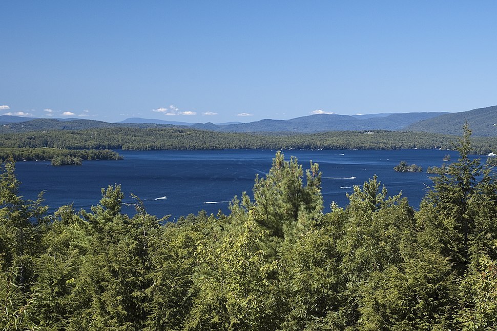 Lake Winnipesaukee and the Ossipee Mountains
